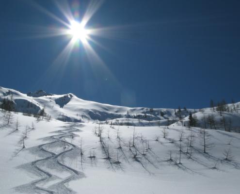 Skifahren Valle Stura