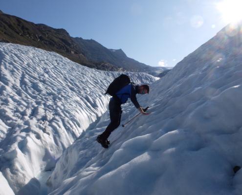 Gletscherausbildung