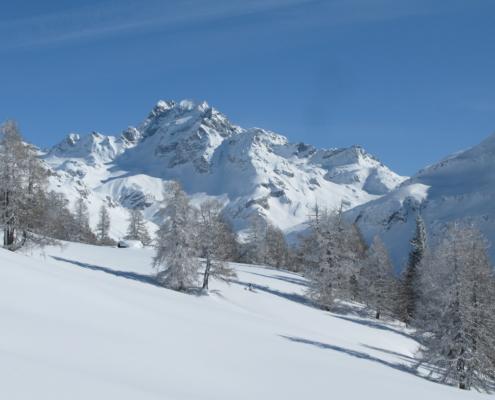 Ofenhorn nach Schneefall